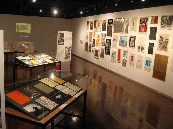 The special exhibition contains many graphic pieces that one can study and admire.