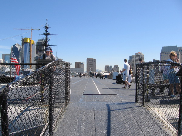 After drinking in the views, I headed back onto the flight deck.