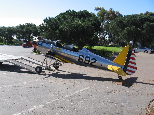 The PT-22 was gleaming in the sunlight and I had to take a closer look.