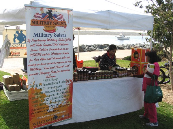 Buy some tasty Military Salsa and help those who've served in the military transition back to civilian life.