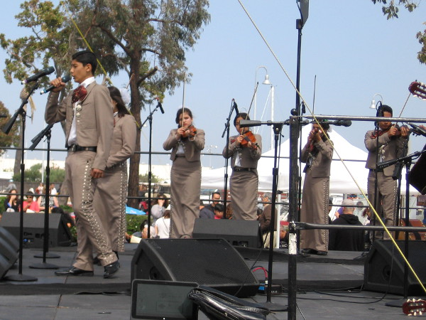Many great mariachi groups would perform from around San Diego, Southern California and Mexico.