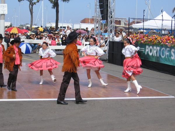 Youthful energy at the Mariachi Festival in National City.