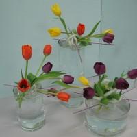 Japanese flower arrangement show in Balboa Park!