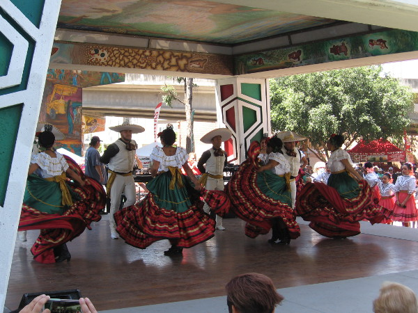 Traditional Mexican ballet folklorico is a delightful slice of Latino culture and much loved in San Diego.