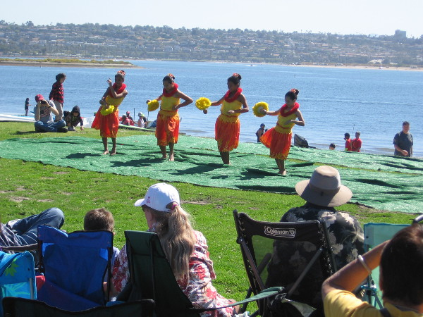 A pleasant day was enjoyed by many at the San Diego Shaka Fest.