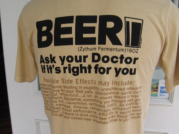 Beer . . . ask your doctor if it's right for you.