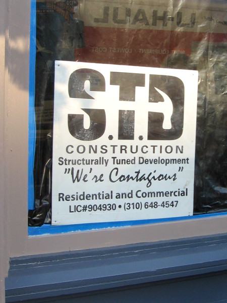 STD Construction - We're Contagious