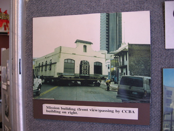 The museum building was originally a mission, which was moved to its present location in San Diego's Asian Pacific Historic District.