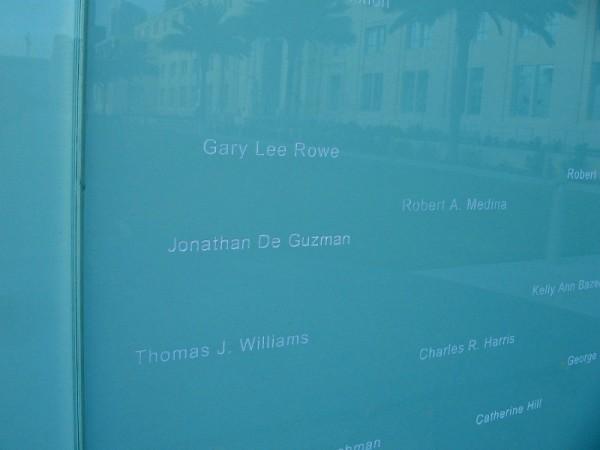 Names of heroes.