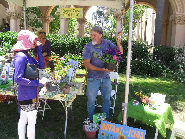 The 2017 Fiesta Botanica in Balboa Park featured lots of plants, flowers and botanical information.