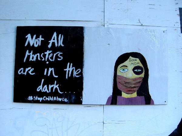 Not all monsters are in the dark.