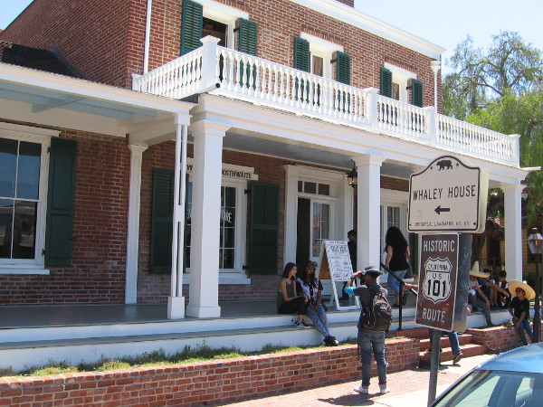 The Whaley House, once designated an official haunted house by the United States Commerce Department, has appeared on many television programs, including the Travel Channel's show America's Most Haunted.