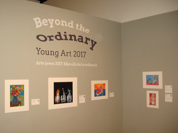 Beyond the Ordinary. Young Art 2017. Amazing, inspired artwork in a free exhibition at the San Diego Museum of Art in Balboa Park!