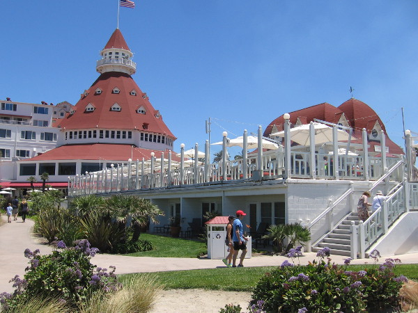 The Hotel del Coronado is an architectural gem. Numerous world leaders, dignitaries and celebrities have stayed at the resort over the years.