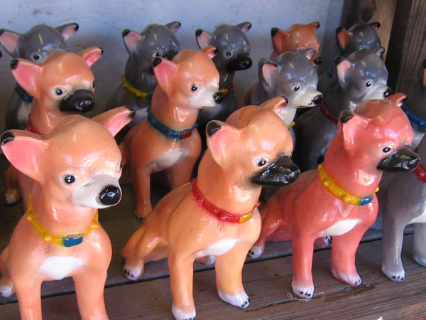 An army of pottery pooches!