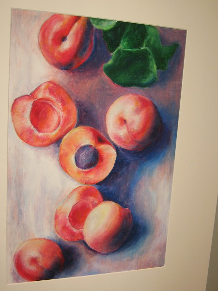 Camryn Melendez, Apricot Sunrise, drawing, Eleventh Grade, Westview High School.