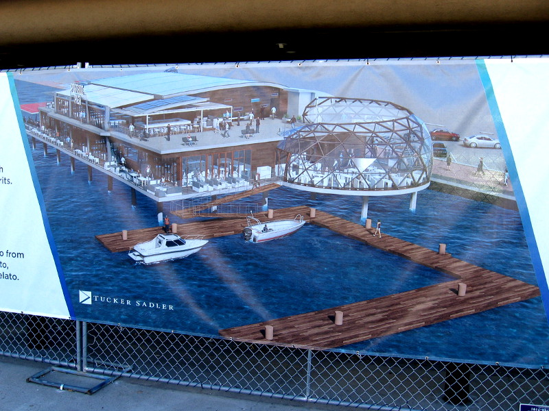 Buildings rise and fall along san diego s waterfront for Anthony s fish grotto san diego