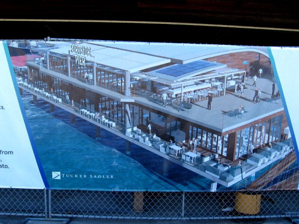 Portside Pier will include Brigantine, Miguel's, Ketch Grill and Taps, and Portside Coffee and Gelato.