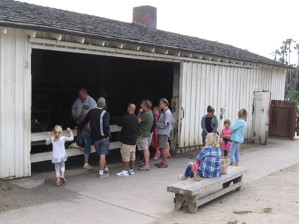 Visitors to Old Town learn a little about life in San Diego during the mid 1800s. Blacksmiths created assorted metal objects, made repairs and shoed horses.