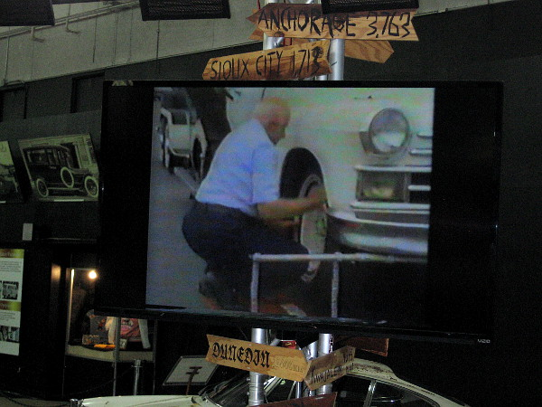 A video in the San Diego Automotive Museum shows the amazing car in action!