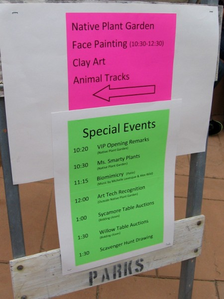 Special events at Tecolote Family Day included a scavenger hunt for kids, art, music, dance and a silent auction.