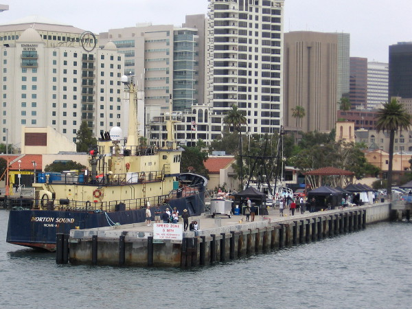 Photos from port of san diego s harbor tour cool san for Fish market seaport village