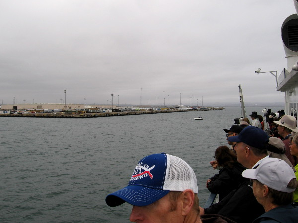 Now we are past the Naval base and approaching the National City Marine Terminal.