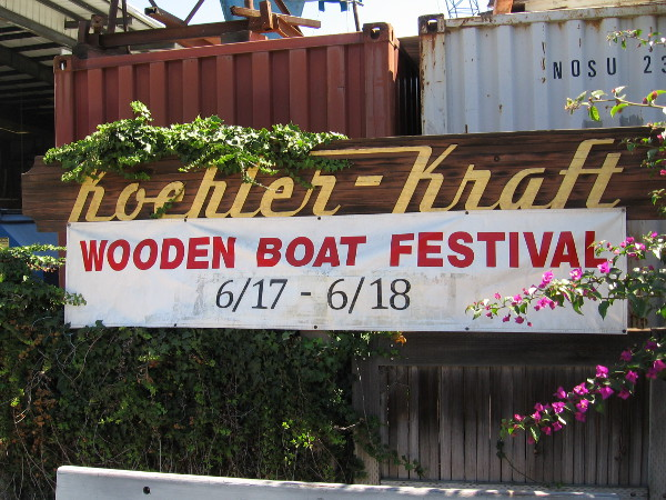 Koehler Kraft's San Diego Wooden Boat Festival is taking place on Father's Day weekend.