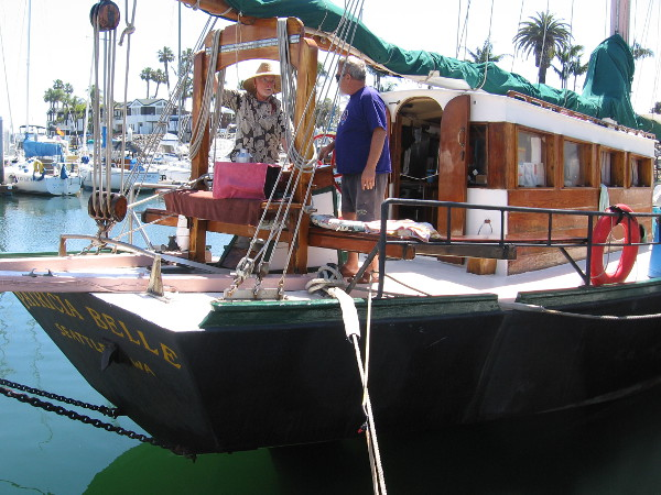 I believe I've seen the Patricia Belle at the yearly Festival of Sail. It's a schooner cargo type boat built in 1998.