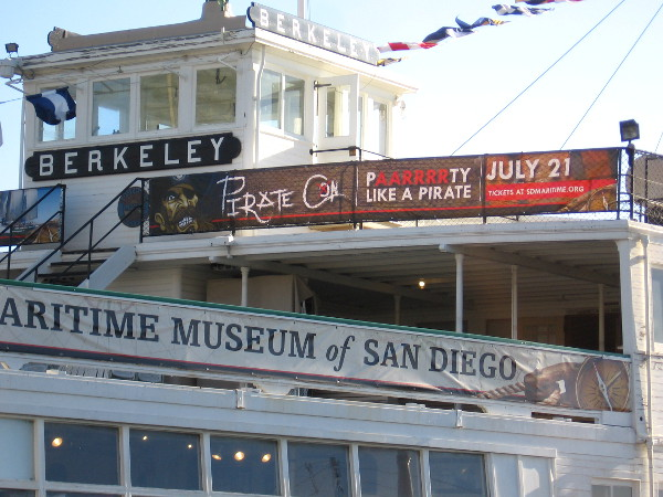 Pirate Con is coming to the Maritime Museum of San Diego during Comic-Con.