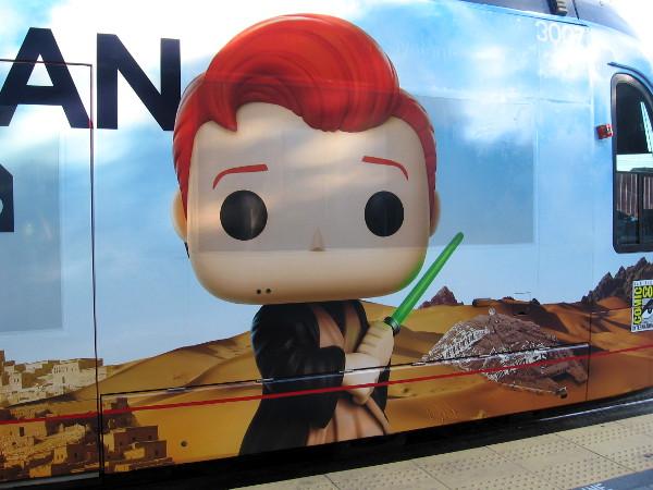 Or perhaps Conan is actually a Star Wars Jedi!