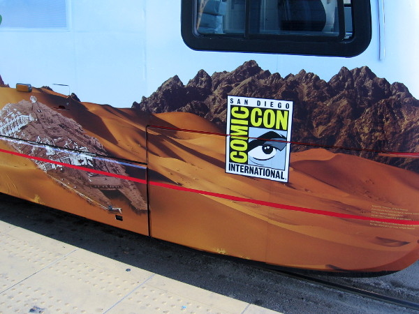 San Diego Comic-Con is on the way, and lots of trolleys are appearing with a variety of cool wraps!
