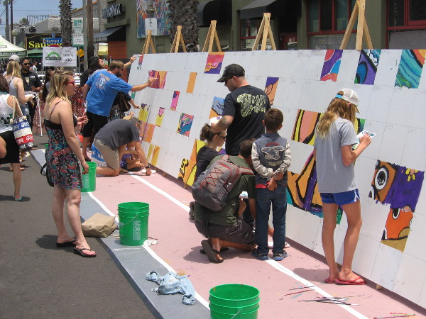 Love of life and love of art combine at the Ocean Beach Street Fair!