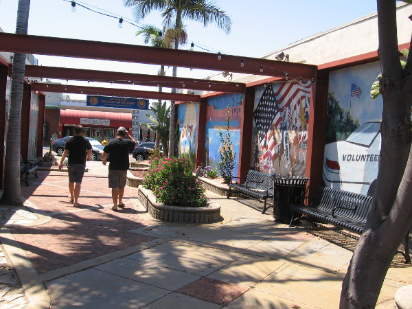 "Walkway of the Stars provides a public ""Thank You"" to dedicated citizen volunteers who make La Mesa a better place to live."