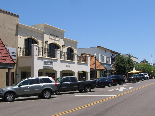 The Village is a modest few blocks in the city. Full of history and memory, it provides a taste of days when La Mesa was a small American town.