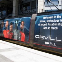 First 2017 San Diego Comic-Con trolley wrap: Orville!