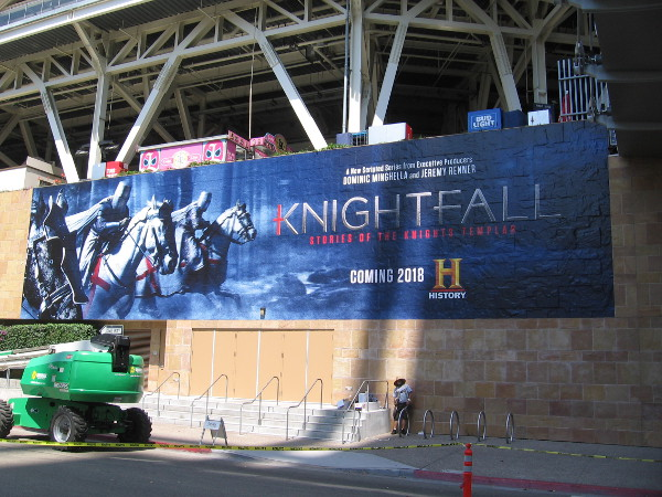 The Knightfall wrap is now complete at Petco.
