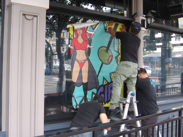 Local businesses in the Gaslamp are also getting ready for Comic-Con, which officially begins in three days!