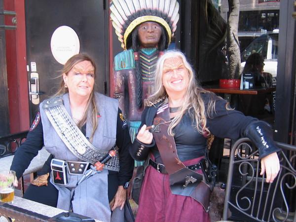 Klingon cosplay during San Diego Comic-Con!