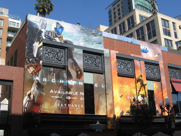 The cool Skydance Interactive wrap on the Hard Rock Hotel is done!