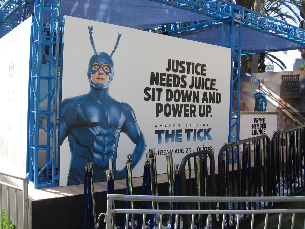 The Tick Takeover includes an Amazon Prime member lounge.
