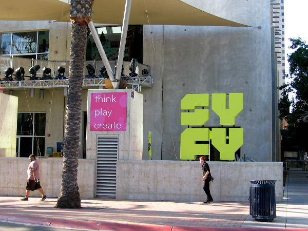 The New Children's Museum appears ready to host Syfy.
