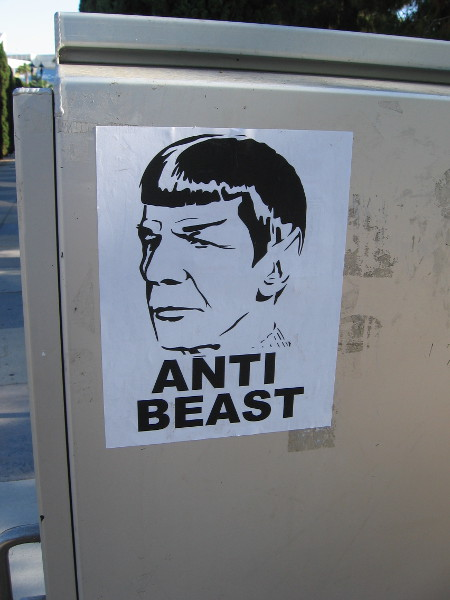 Is Spock the Beast? Or the Anti-Beast?