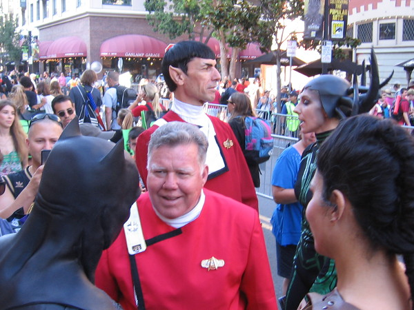 An uncanny cosplay of Spock!