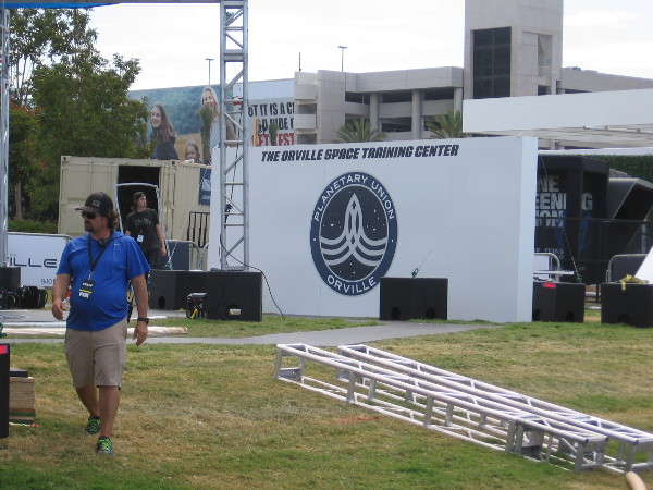 The Orville Space Training Center is being built in the FOX area! Will there be bungee cords?
