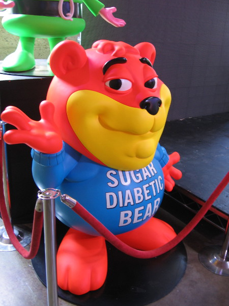 It's Sugar Diabetic Bear!