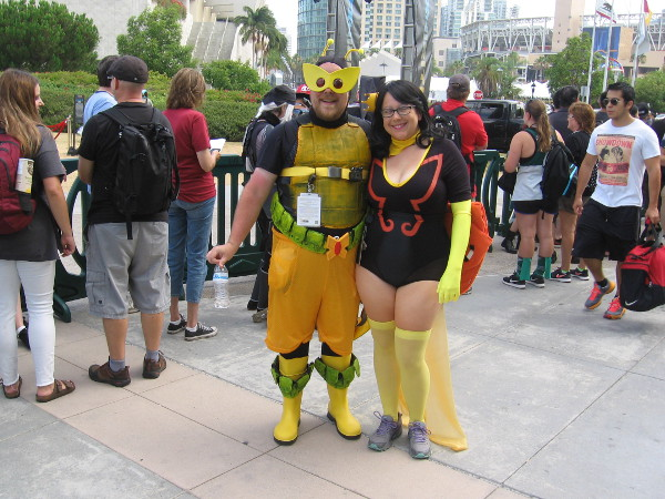 Some cool Venture Brothers cosplay at San Diego Comic-Con!