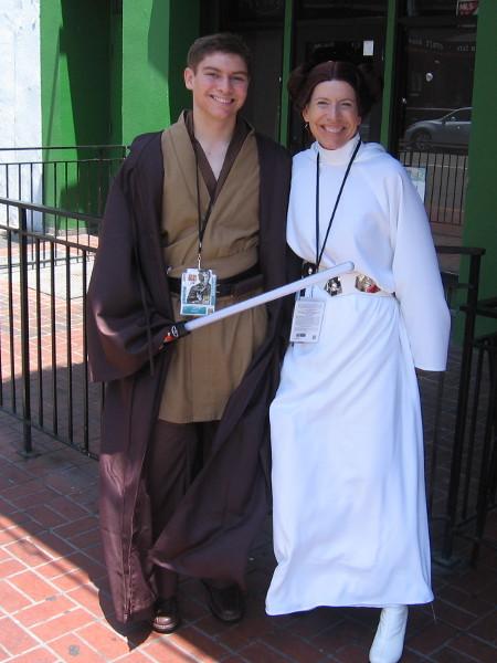 A good Star Wars cosplay!