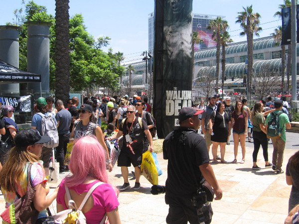 Everyone was having a great time at Comic-Con. I was just wandering about, not paying very close attention.