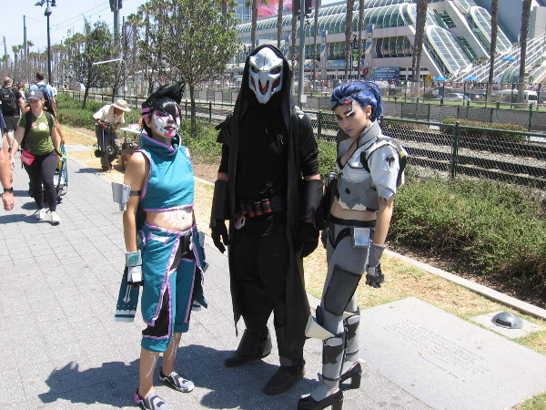 Super cool cosplay--and I didn't write this one down either. Sorry!